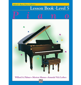 Alfred Alfred's Basic Piano Library Lesson Book Level 5 * #