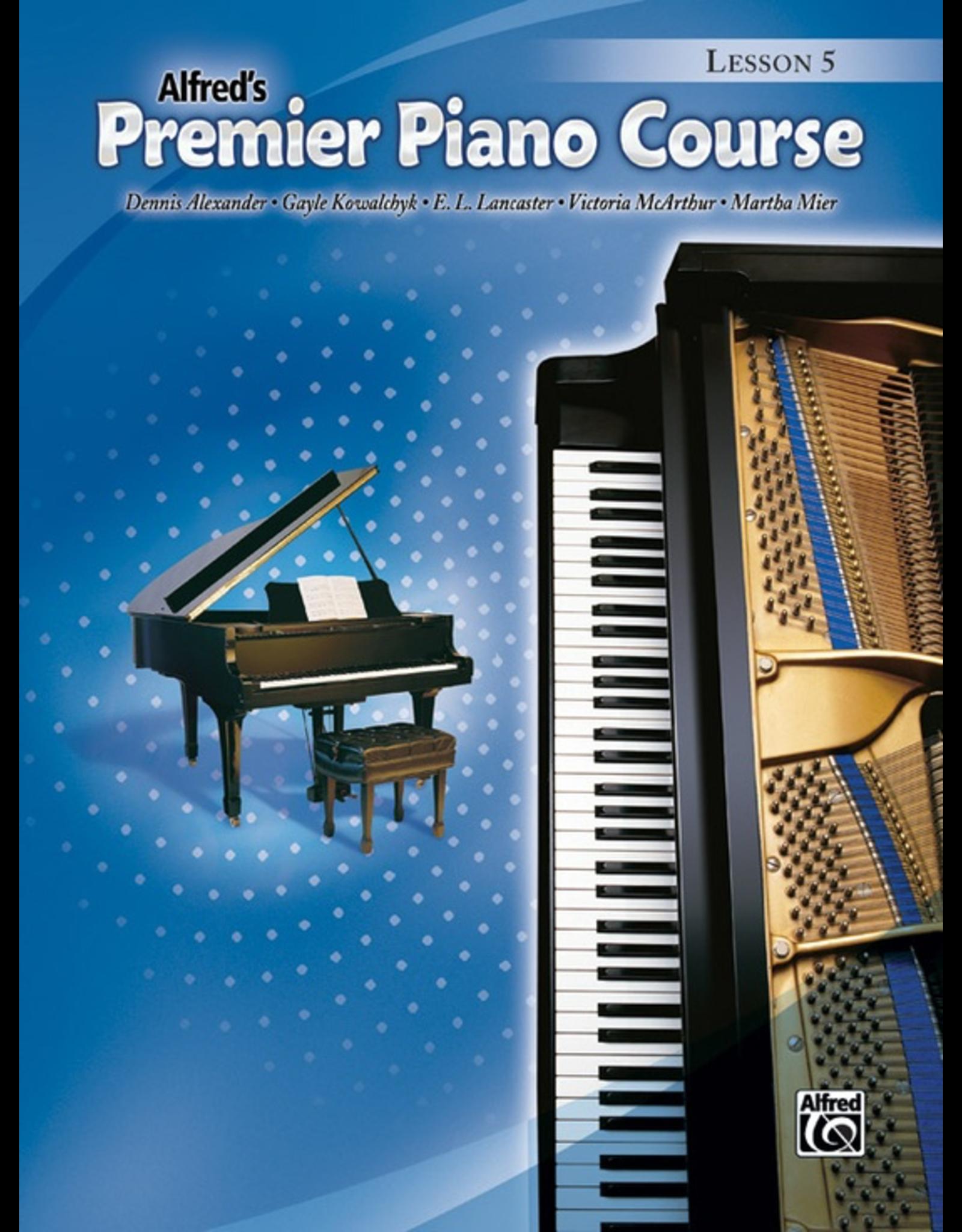 Alfred Alfred's Premier Piano Course Lesson Book 5