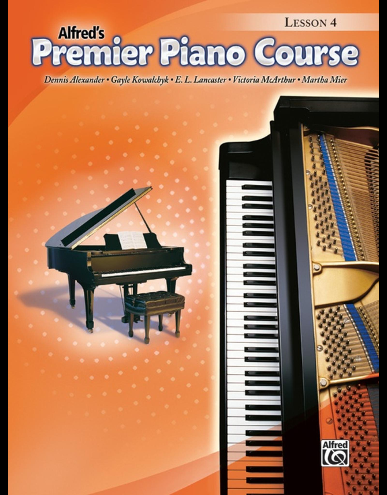 Alfred Alfred's Premier Piano Course Lesson Book 4