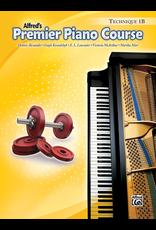 Alfred Alfred's Premier Piano Course Technique Book 1B