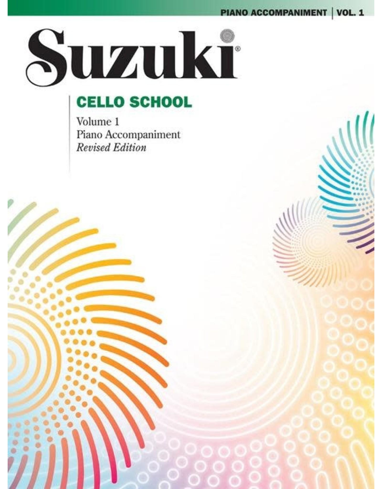 Alfred Suzuki Cello School Volume 1 Piano Acc. Revised Edition