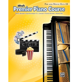 Alfred Alfred's Premier Piano Course Pop and Movie Hits, Book 1B
