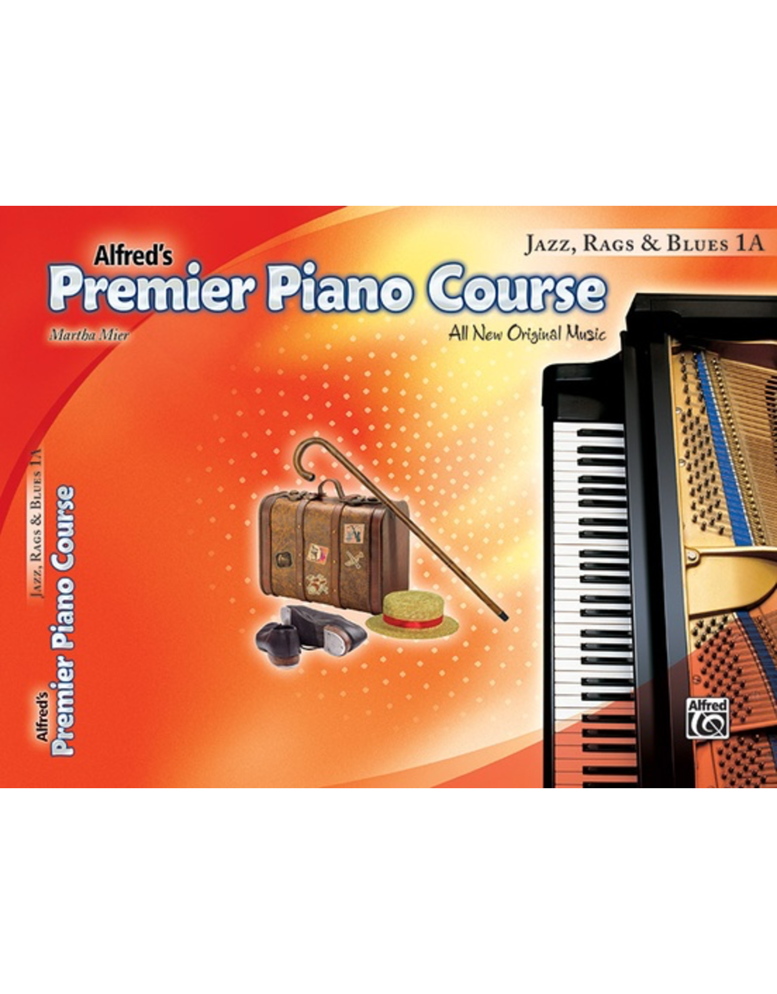 Alfred Alfred's Premier Piano Course Jazz, Rags, & Blues 1A
