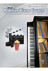 Alfred Alfred's Premier Piano Course Pop and Movie Hits Book 6