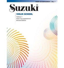 Alfred Suzuki Violin School Volume 7 Piano Accompaniment Revised Edition