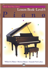 Alfred Alfred's Basic Piano Library Lesson Book Level 6 *