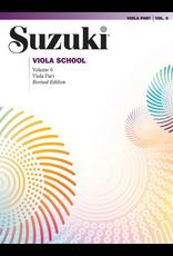 Alfred Suzuki Viola School Viola Part Volume 6 Revised Edition