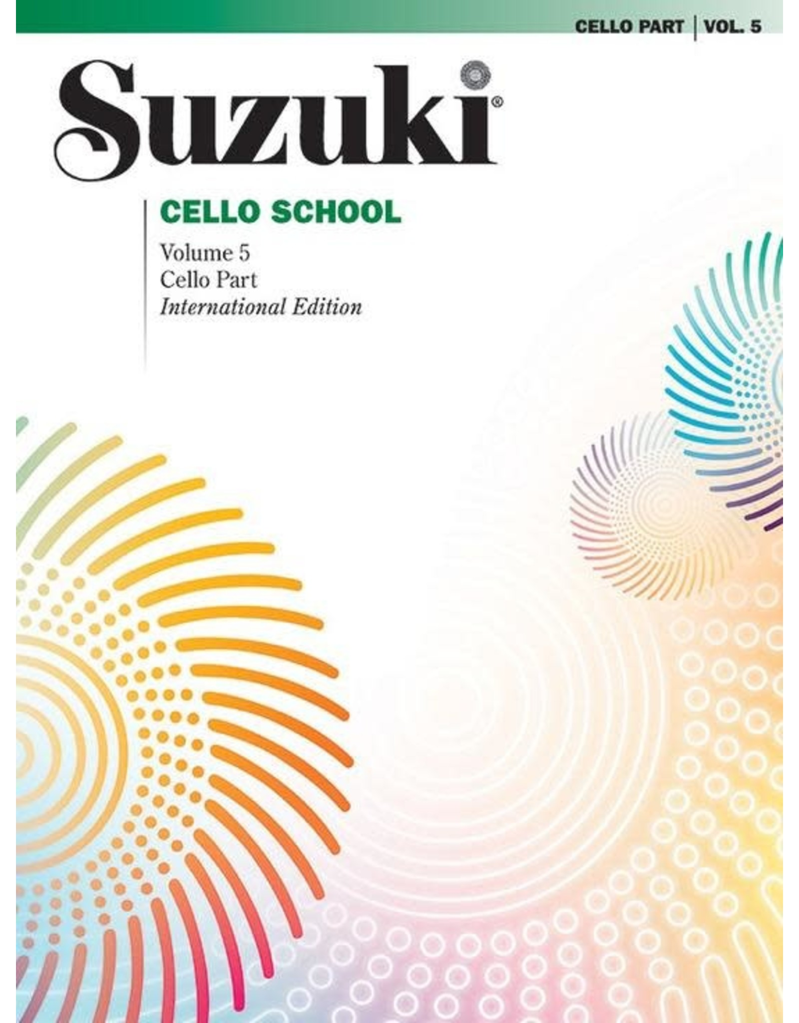 Alfred Suzuki Cello School Volume 5 Revised Edition