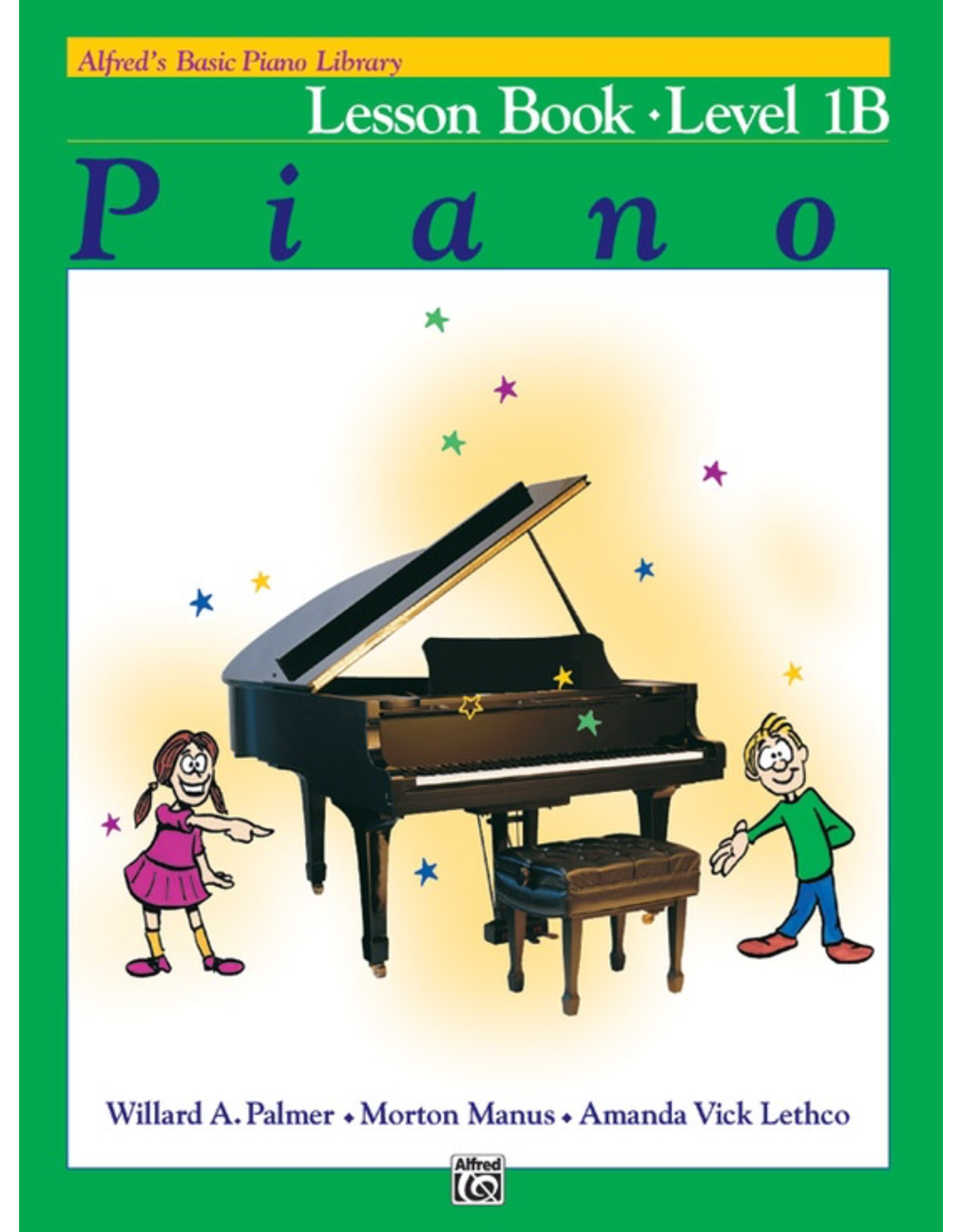 Alfred Alfred's Basic Piano Library Lesson Book Level 1B *