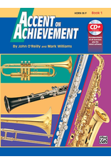 Alfred Accent on Achievement Book 1 with CD, Horn in F (French Horn)