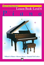 Alfred Alfred's Basic Piano Library Lesson Book Level 4 *