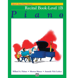 Alfred Alfred's Basic Piano Library, Recital Book Level 1B *
