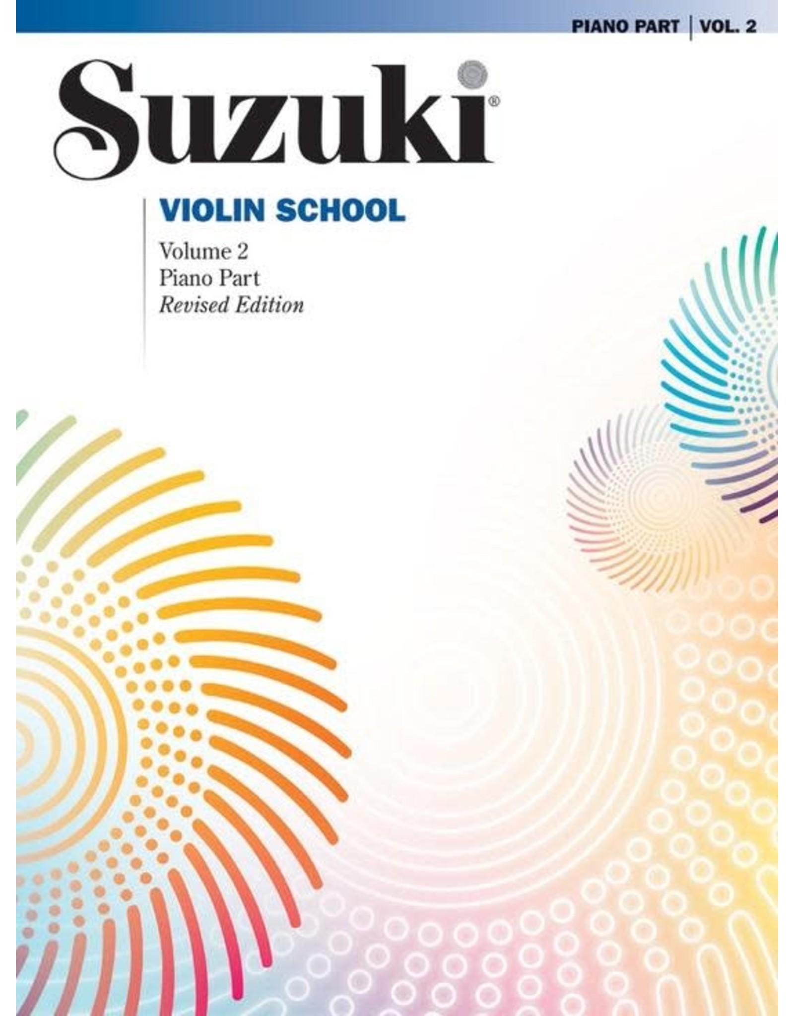 Alfred Suzuki Violin School Volume 2 Piano Accompaniment Revised Edition