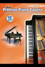 Alfred Alfred's Premier Piano Course Lesson Book 4 CD Included