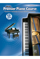 Alfred Alfred's Premier Piano Course Lesson Book 5 CD Included