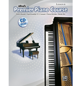 Alfred Alfred's Premier Piano Course Lesson Book 6 CD Included