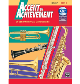 Alfred Accent on Achievement Book 2 with CD, Horn in F (French Horn)