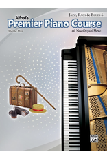 Alfred Alfred's Premier Piano Course Jazz, Rags and Blues Book 6