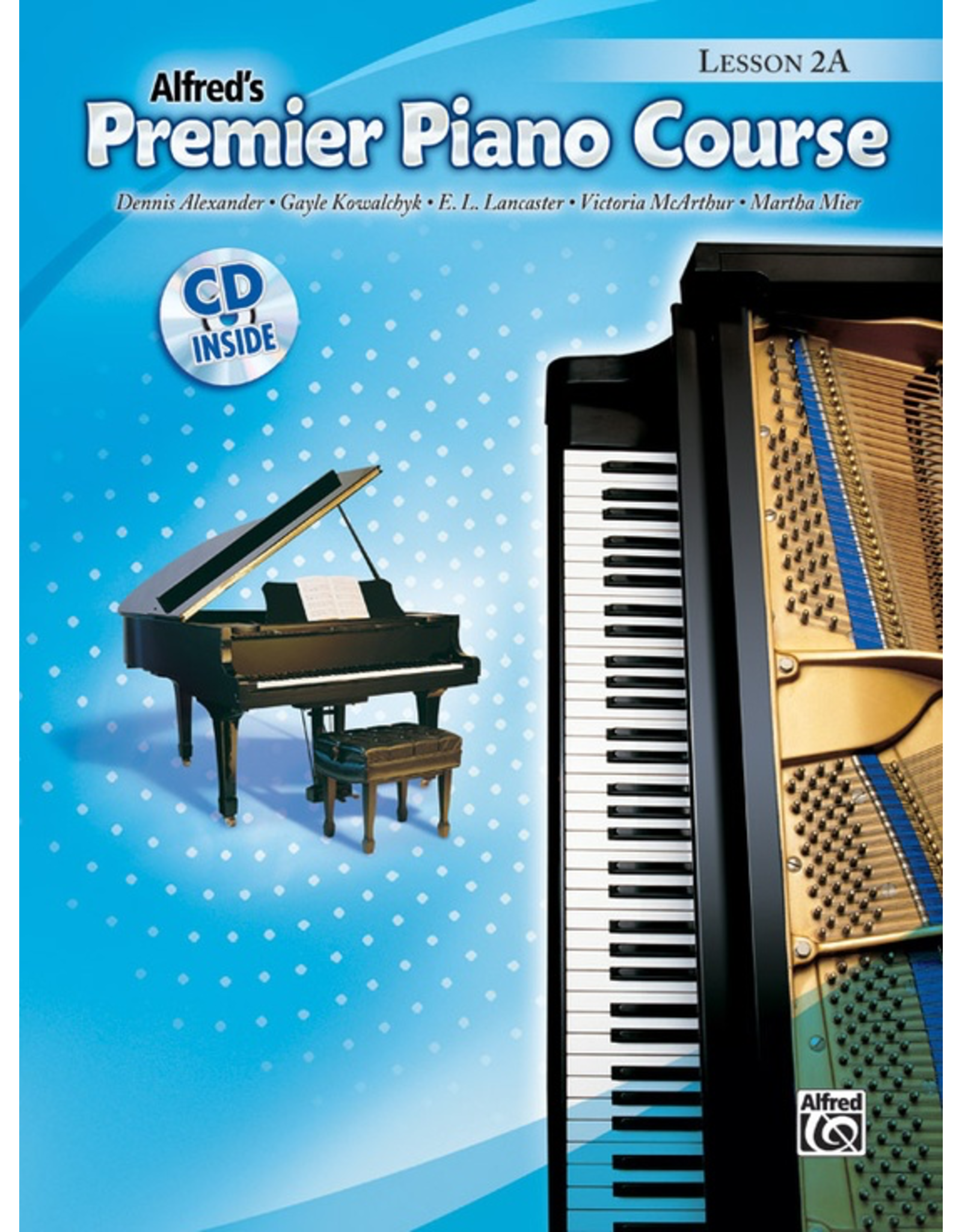 Alfred Alfred's Premier Piano Course Lesson Book 2A CD Included