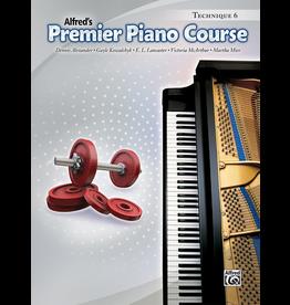 Alfred Alfred's Premier Piano Course Technique 6