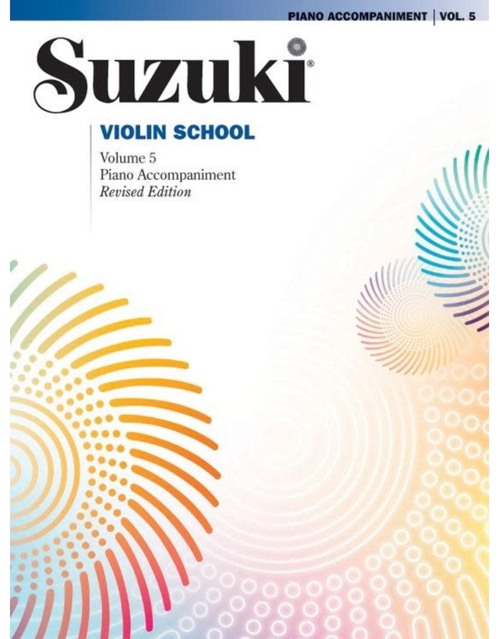 Alfred Suzuki Violin School, Vol. 5 Piano Acc. Revised