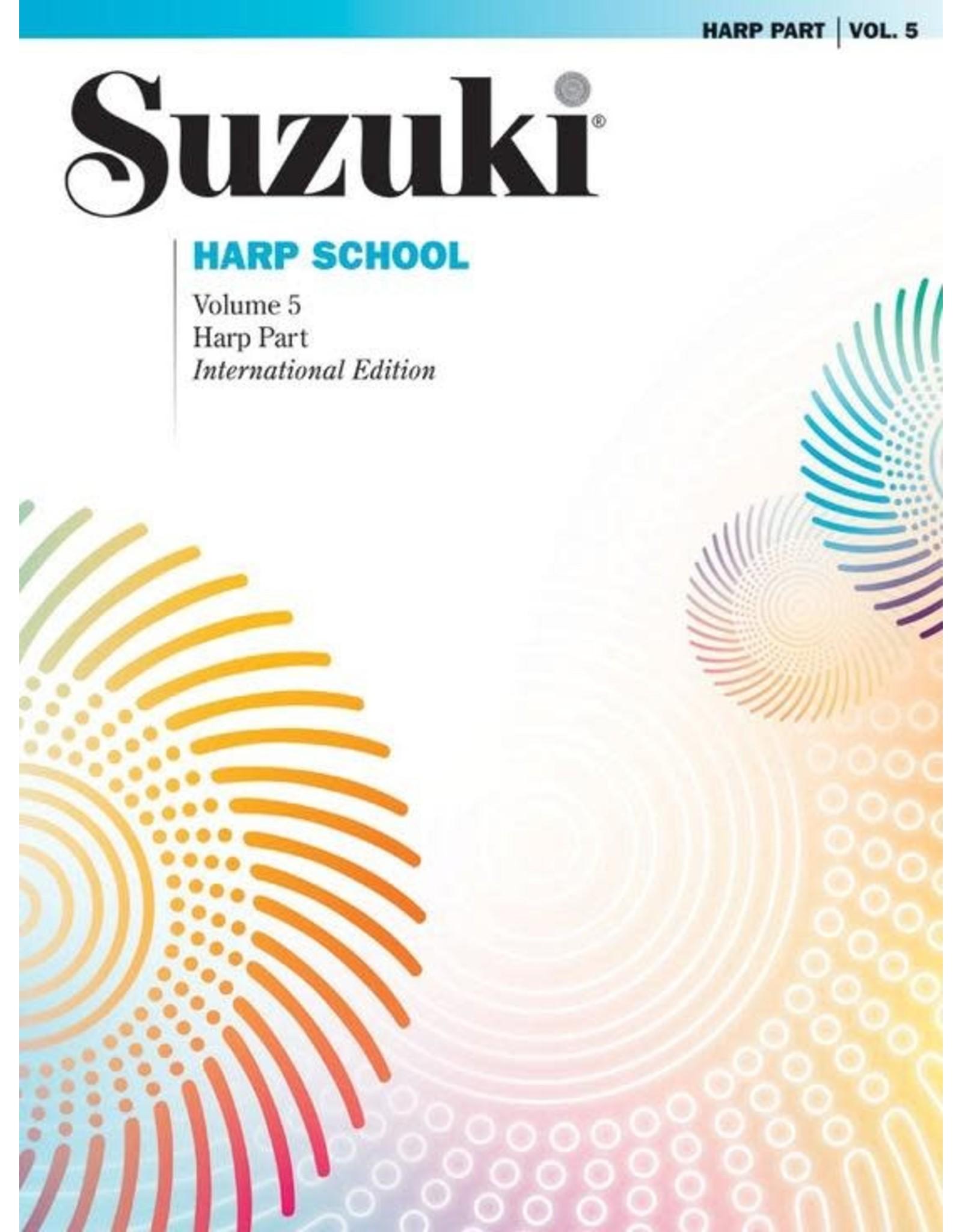 Alfred Suzuki Harp School, Volume 5 Harp Part