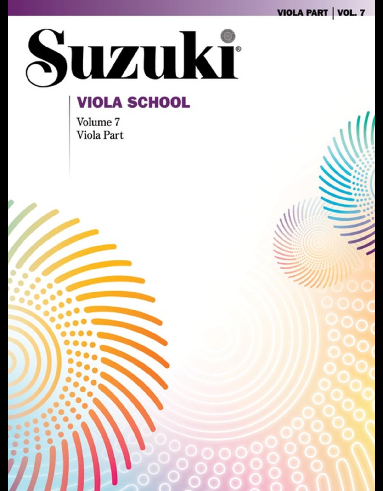 Alfred Suzuki Viola School Viola Part Volume 7 Revised Edition