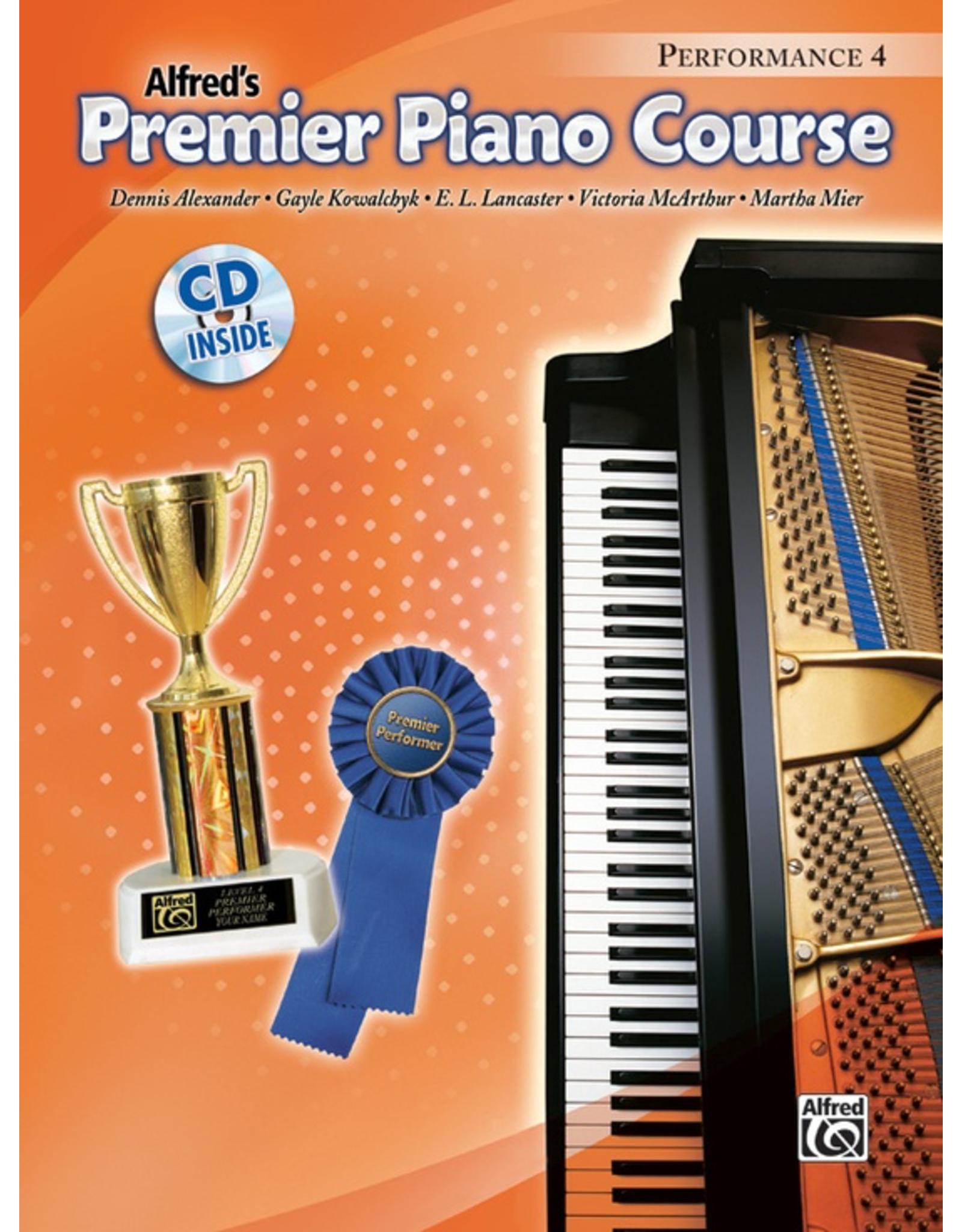Alfred Alfred's Premier Piano Course Performance Book 4 CD Included