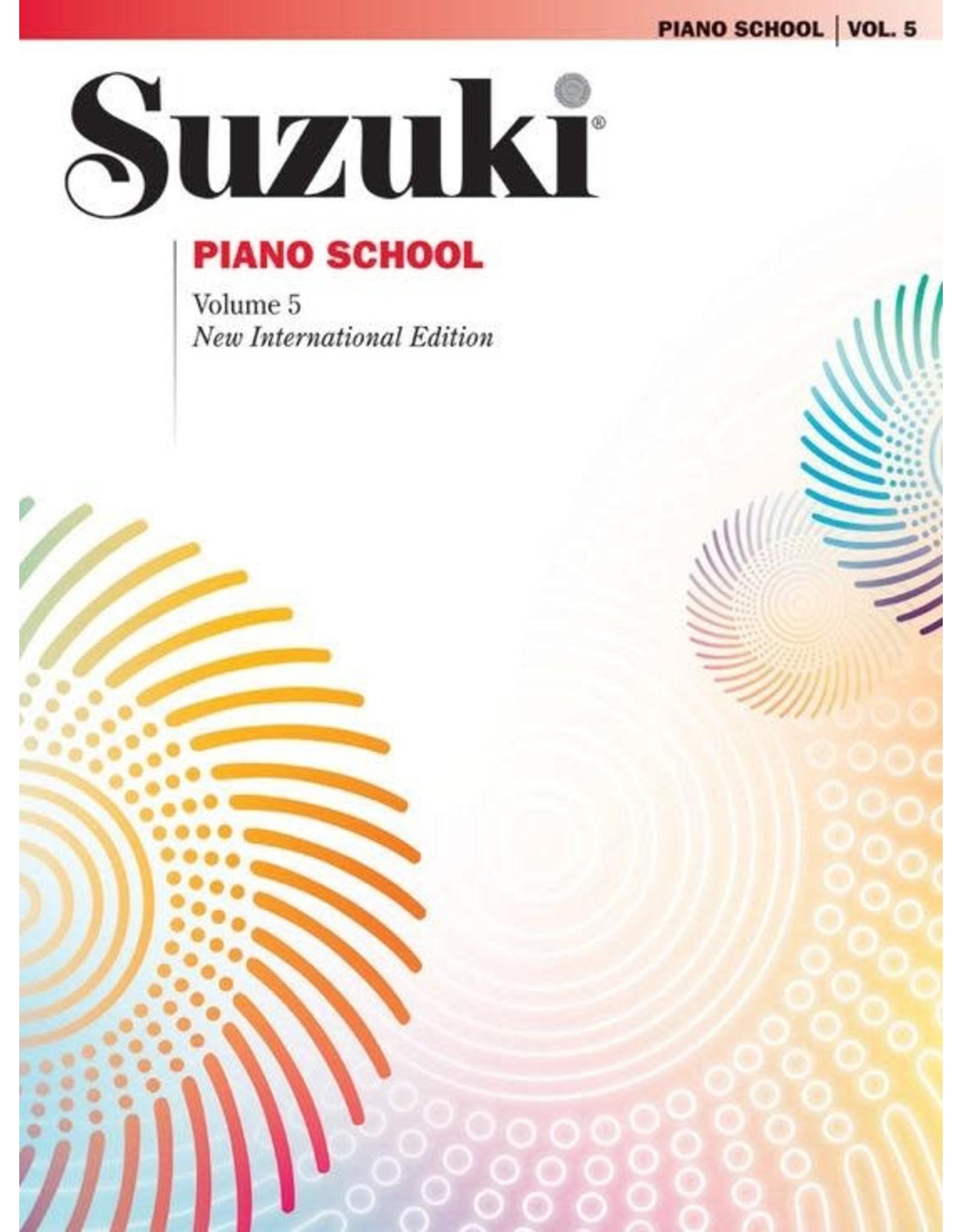 Alfred Suzuki Piano School Piano Book, Volume 5 New International