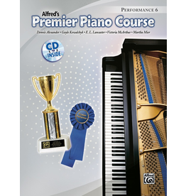 Alfred Alfred's Premier Piano Course Performance Book 6 CD Included