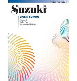 Alfred Suzuki Violin School Volume 6 Book (Revised)
