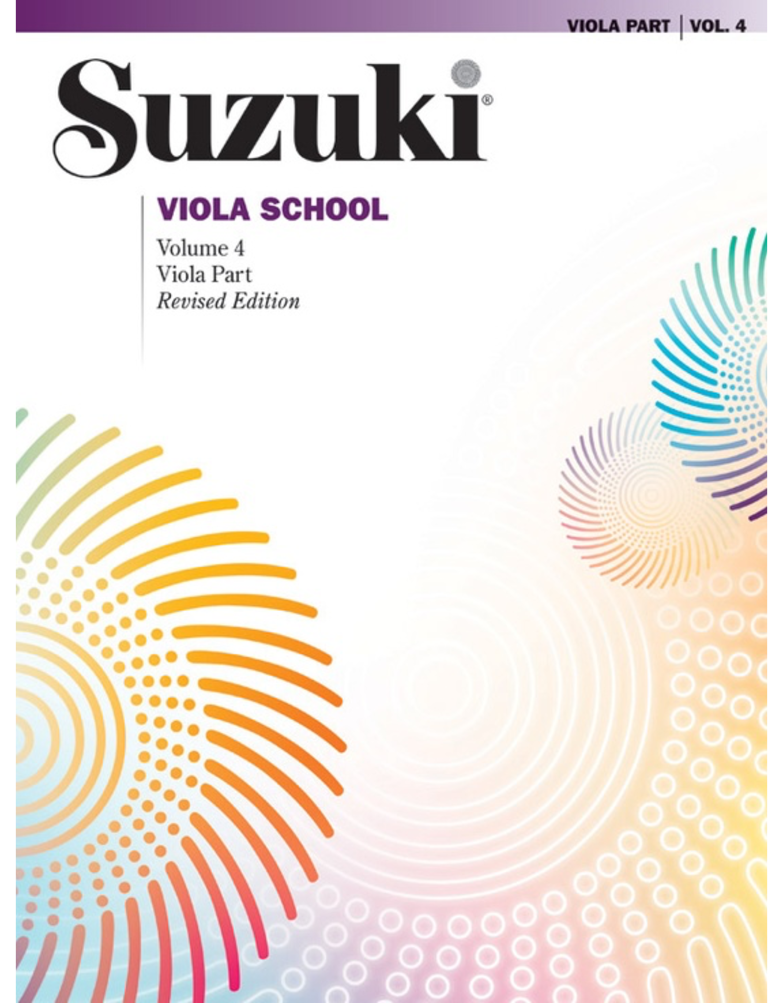 Alfred Suzuki Viola School, Volume 4 - Viola Part