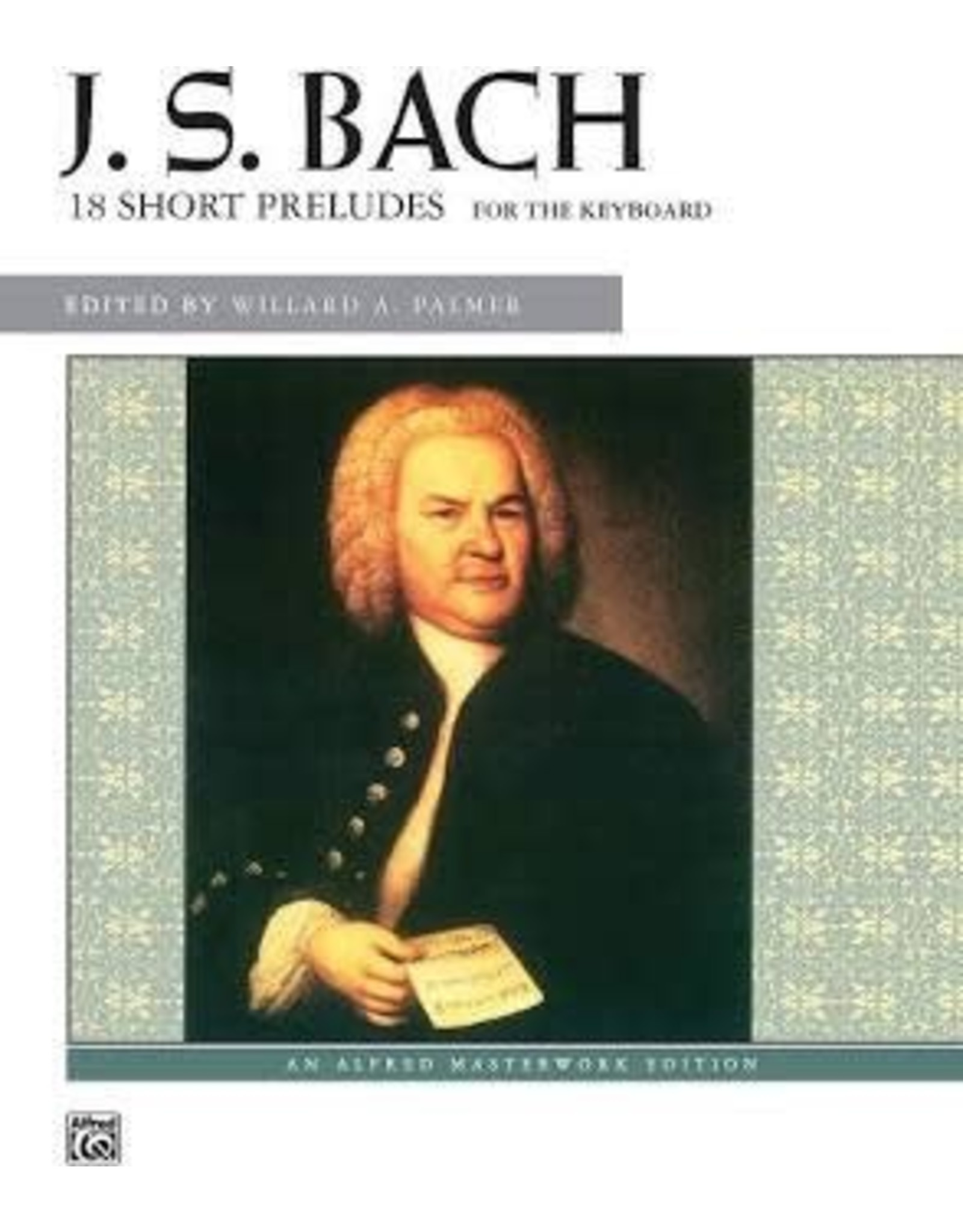 Alfred 18 Short Preludes by J.S. Bach CD