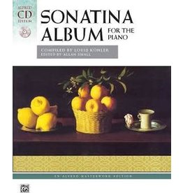 Alfred Sonatina Album - CD ONLY - Compiled by Louis Köhler / ed. Allan Small / perf. Kim O'Reilly