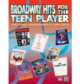 Alfred Broadway Hits for the Teen Player Easy Piano