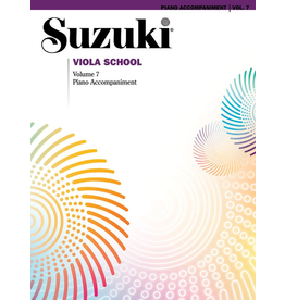 Alfred Suzuki Viola School Piano Acc. Volume 7