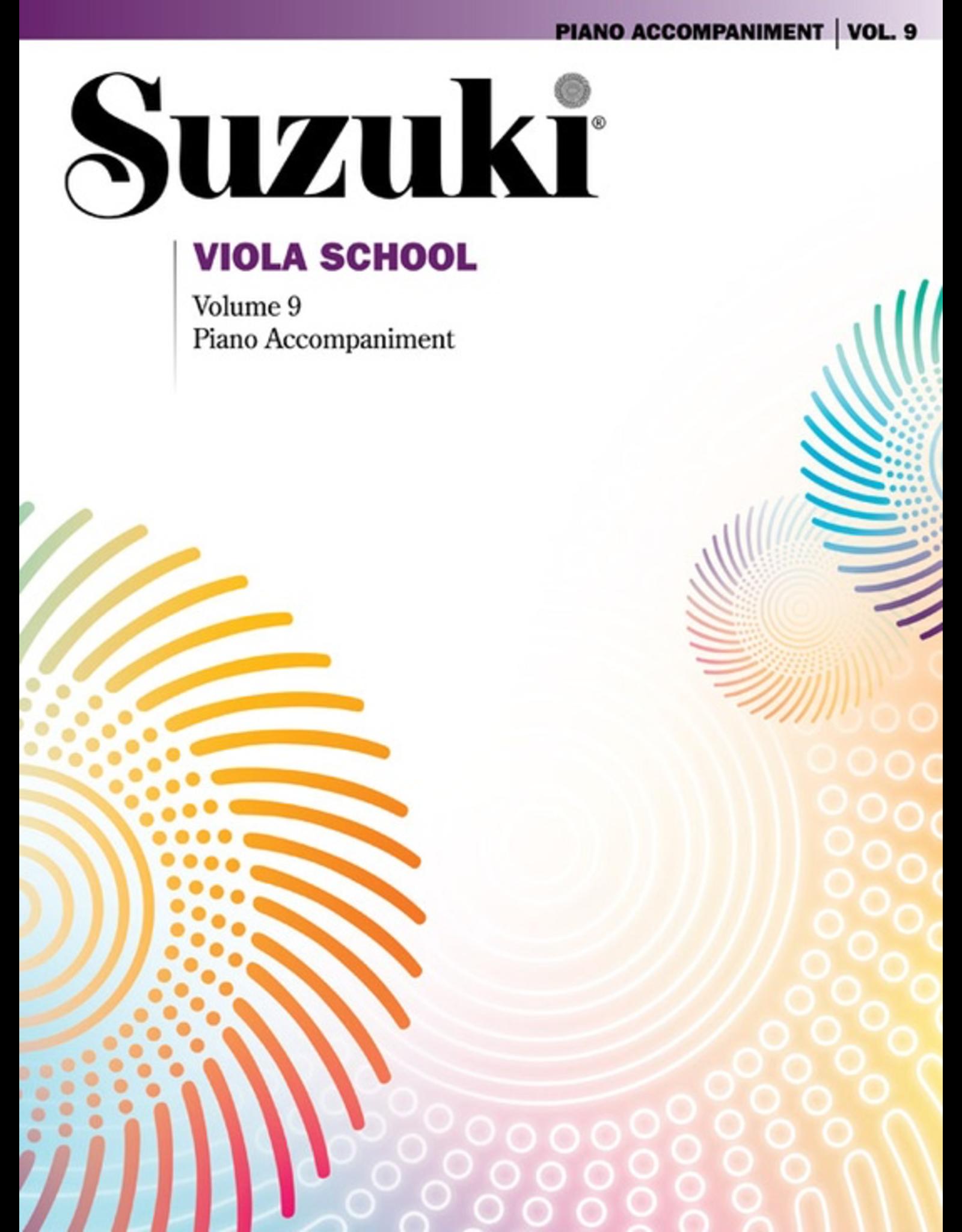 Alfred Suzuki Viola School Volume 9 Viola Accompaniment Book