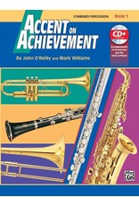 Alfred Accent on Achievement Book 1 with CD, Combined Percussion