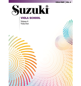 Alfred Suzuki Viola School Piano Acc. Volume 8 Revised Edition