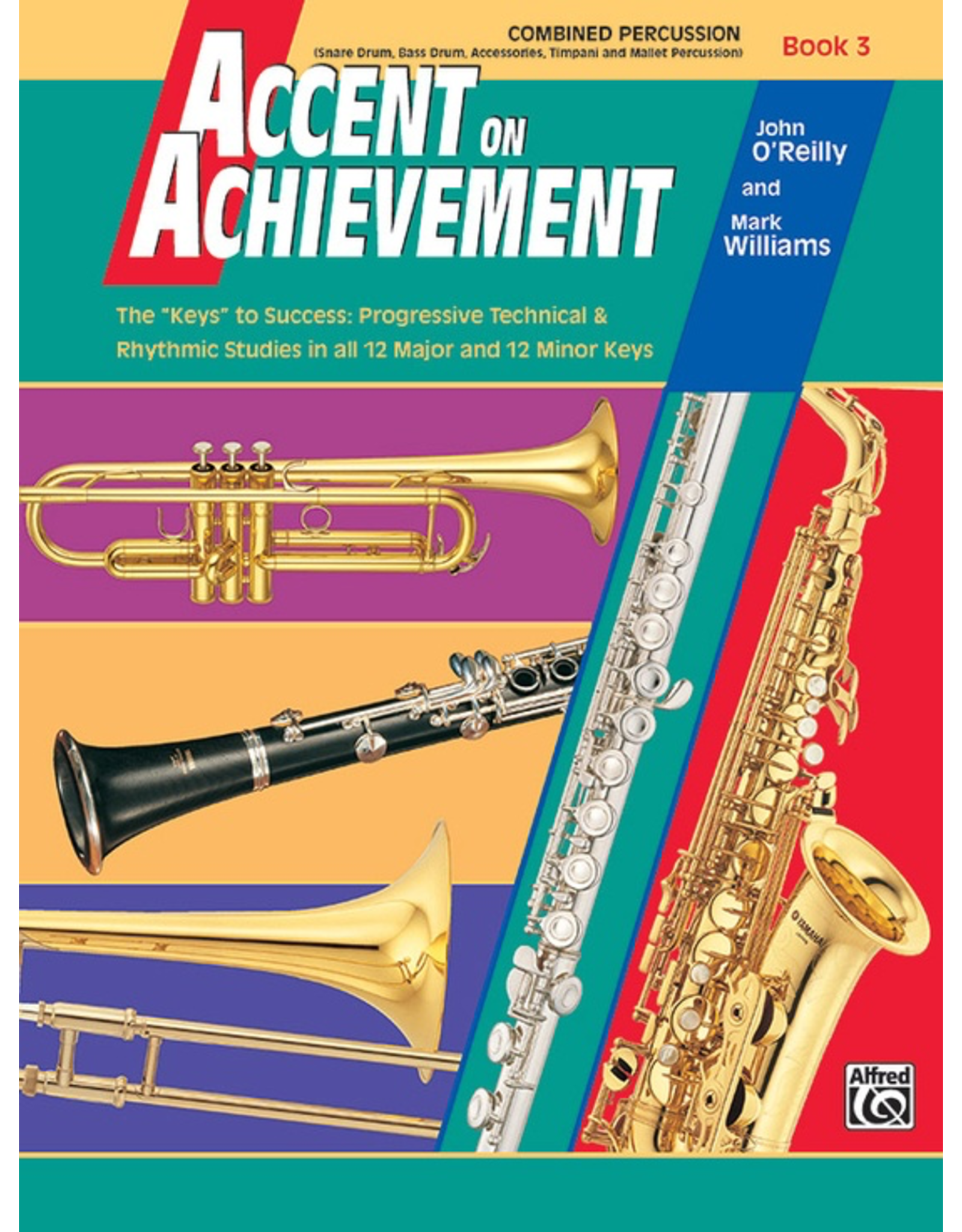 Alfred Accent on Achievement Book 3, Combined Percussion