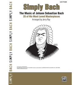 Alfred Simply Bach by Dan Coates
