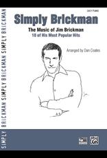 Alfred Simply Brickman - By Jim Brickman / arr. Dan Coates