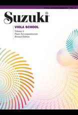 Alfred Suzuki Viola School Volume 4 Piano Accompaniment Revised Edition