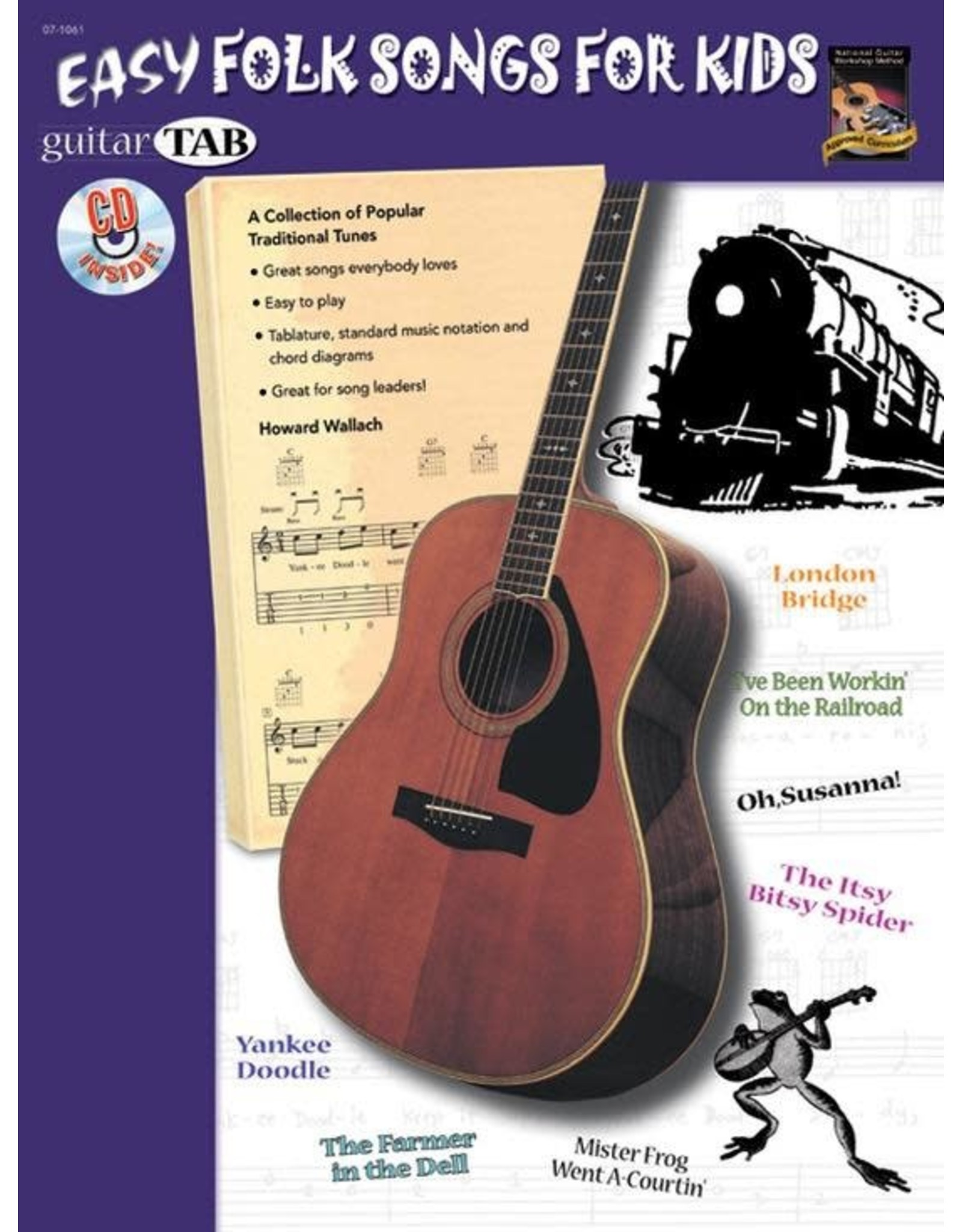 Alfred Easy Folk Songs for Kids - Guitar Tab