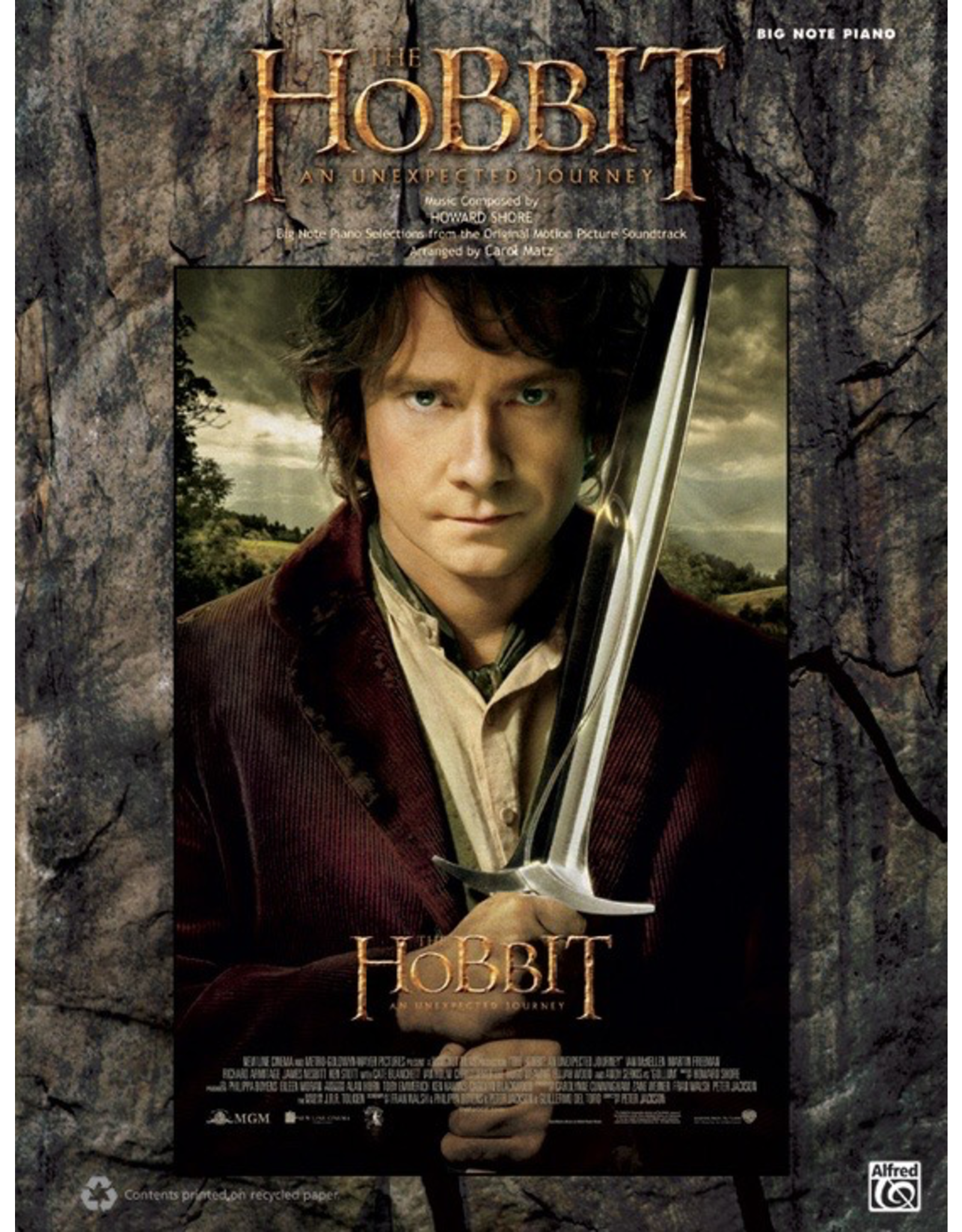 Alfred Hobbit: An Unexpected Journey Big Note