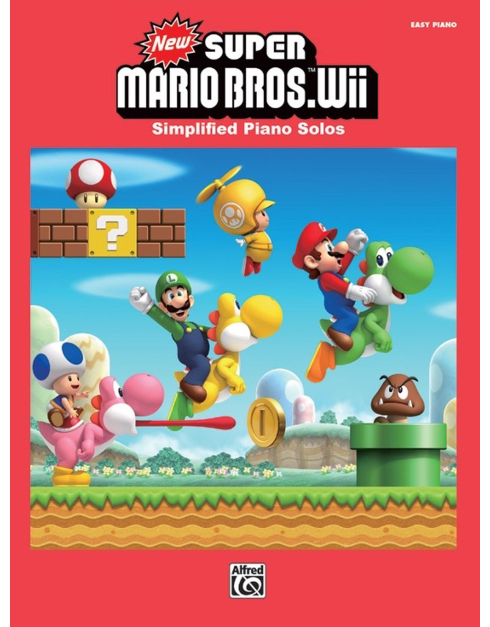 Alfred New Super Mario Bros. Wii - Easy Piano