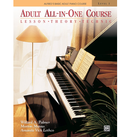 Alfred Alfred's Adult All-in-One Course, Book 1