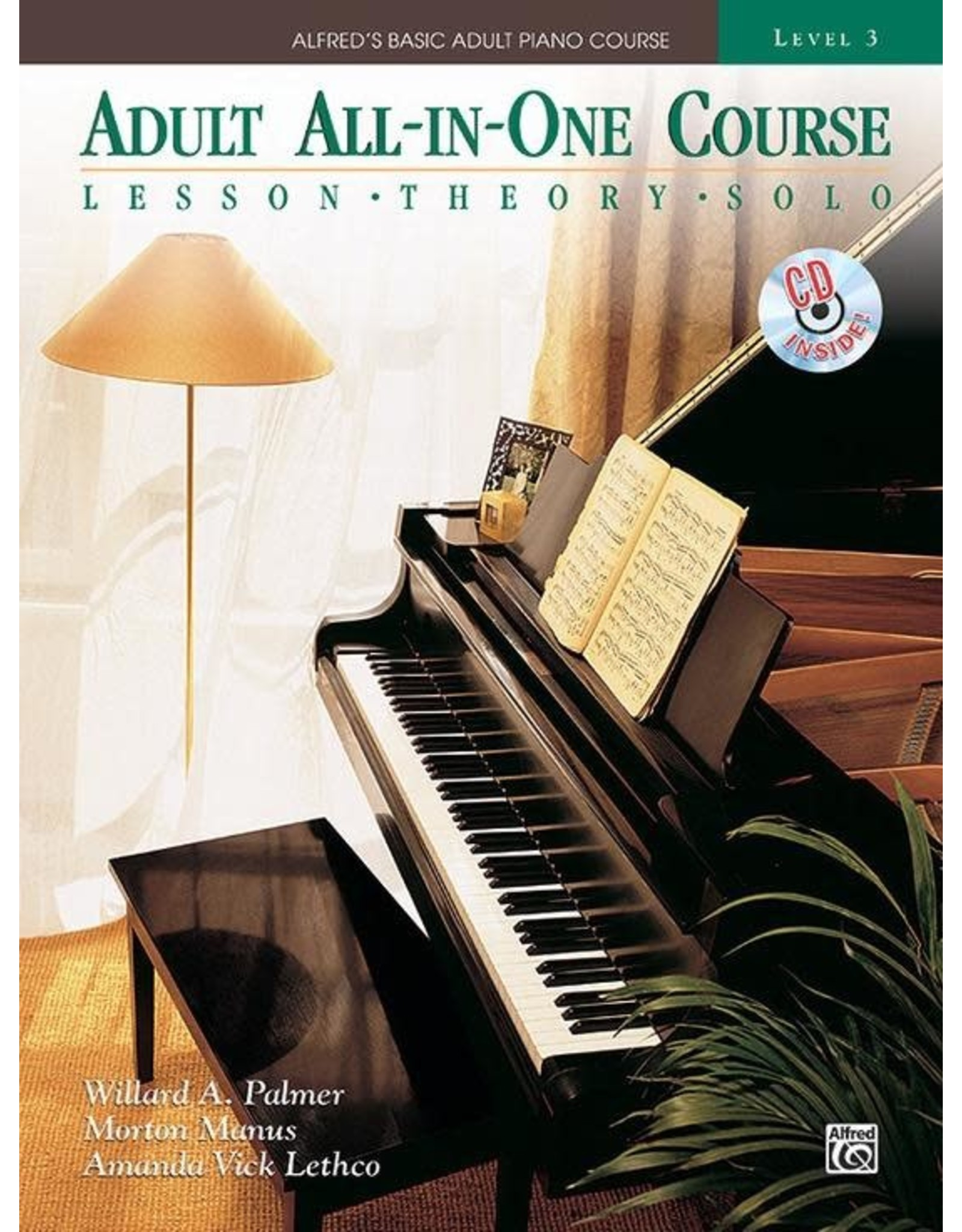 Alfred Alfred's Adult All-in-One Course, Book 3 Book/CD