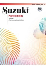Alfred Suzuki Piano School, Volume 1 New International Edition with CD