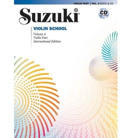 Alfred Suzuki Violin School Volume 4 Revised Edition with CD